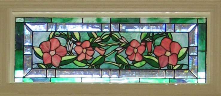 Mandevilla Stained Glass Transom