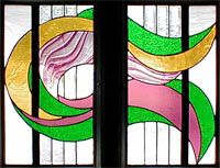 Mardi Gras Stained Glass