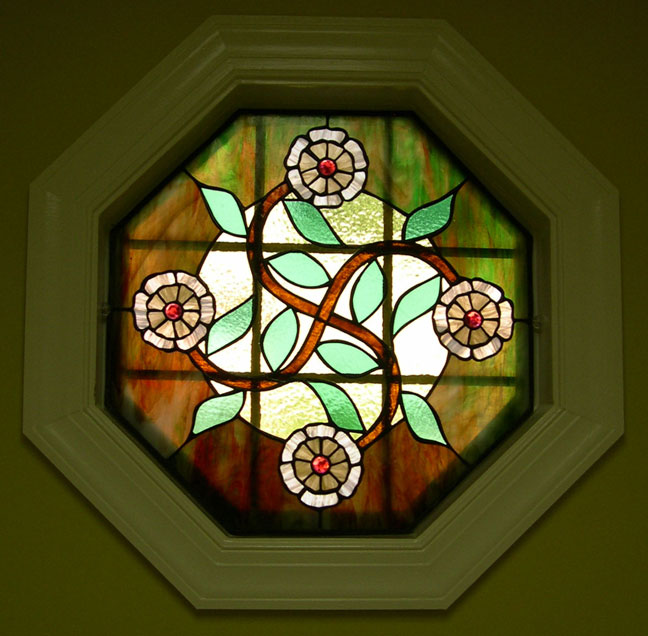 Octagonal Stained Glass Window