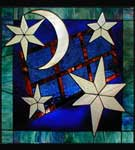 Starry starry night stained glass